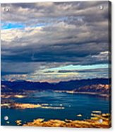 Lake Mead Thunderstorm Acrylic Print