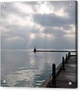 Lake Michigan At Rest Acrylic Print