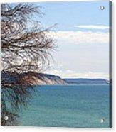 Lake Michigan Bluffs Acrylic Print