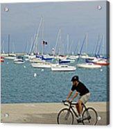 Lake Michigan - Downtown Chicago Acrylic Print