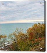 Lake Michigan Fall Acrylic Print