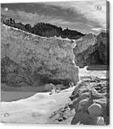Lake Michigan Ice II Acrylic Print