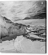 Lake Michigan Ice Iv Acrylic Print