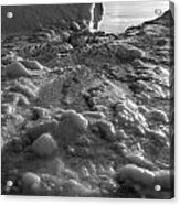 Lake Michigan Ice Xii Acrylic Print