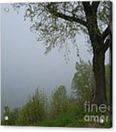 Lake Michigan Obscured Acrylic Print