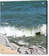 Lake Michigan Shore Acrylic Print