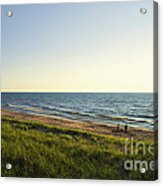Lake Michigan Shoreline 01 Acrylic Print