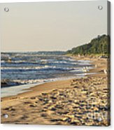 Lake Michigan Shoreline 03 Acrylic Print