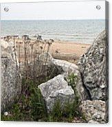 Lake Michigan Shoreline Acrylic Print