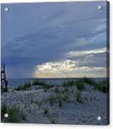 Lake Michigan Sky Acrylic Print