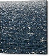 Lake Michigan Sparkling Water Acrylic Print