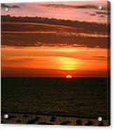 Lake Michigan Sunrise Acrylic Print