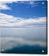 Lake Michigan's Lost Horizon Acrylic Print