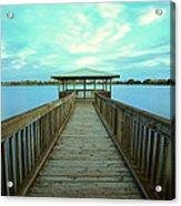 Lake Monger Western Australia Acrylic Print