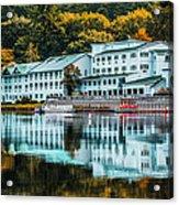 Lake Morey Inn And Resort Acrylic Print