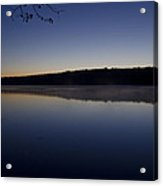 Lake Nockamixon Just Before Sunrise Acrylic Print