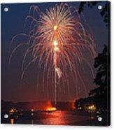 Lake Of Fire Acrylic Print