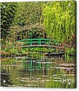 Lake Of Monet Acrylic Print