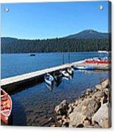 Lake Of The Woods Boat Harbor Acrylic Print