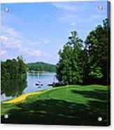 Lake On A Golf Course, Legend Course Acrylic Print