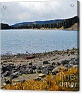 Lake On The Grand Mesa Colorado Acrylic Print