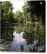 Lake On The Plantation Acrylic Print