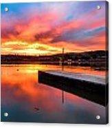 Lake Oneil Sunset Acrylic Print