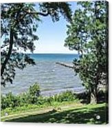 Lake Ontario At Webster Park Acrylic Print