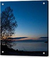 Lake Ontario Blue Hour Acrylic Print