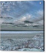 Lake Ontario Snow Acrylic Print