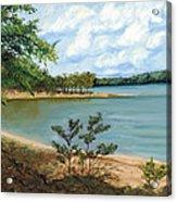 Lake Ouachita Acrylic Print