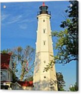 Lake Park Light House 2 Acrylic Print