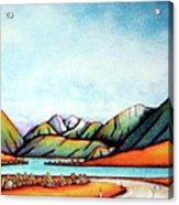 Lake Pearson 1999 Si Nz Acrylic Print