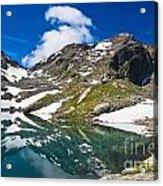 lake Pietra Rossa - Italy Acrylic Print