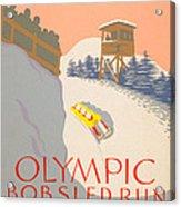 Lake Placid - 1932 Olympics Acrylic Print