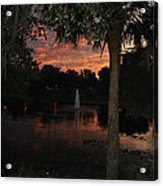 Lake Play Florida Acrylic Print