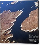Lake Mead From Above Acrylic Print