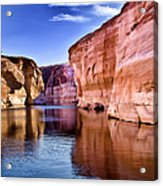 Lake Powell Antelope Canyon Acrylic Print