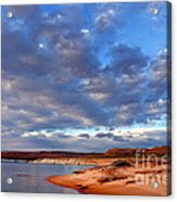 Lake Powell Morning Acrylic Print by Thomas R Fletcher