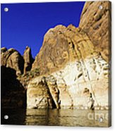Lake Powell Rock And Sky Acrylic Print by Thomas R Fletcher