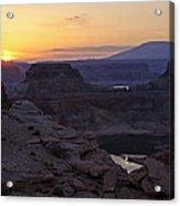 Lake Powell Sunrise  Acrylic Print
