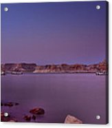 Lake Powell Sunset Acrylic Print