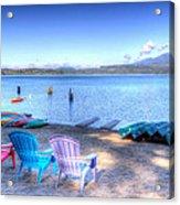 Lake Quinault Dream Acrylic Print by Heidi Smith