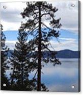 Lake Reflections At Tahoe Acrylic Print