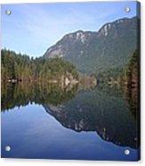 Buntzen Lake, Bc Reflections Acrylic Print
