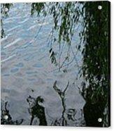 Lake Reflections Of Blue Acrylic Print