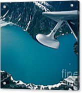 Lake Seen From A Seaplane Acrylic Print
