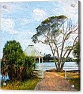 Lake Series 01 Acrylic Print