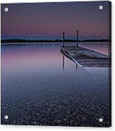 Lake Shaokatan Acrylic Print