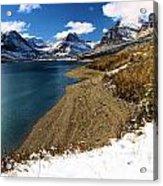 Lake Sherburne Acrylic Print
